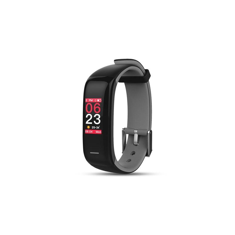 Ρολόι Fitness Tracker Apachie Infinity P1 Plus με Μετρητή Καρδιακών Παλμών Χρώματος Γκρι INFINITYTRKGRY