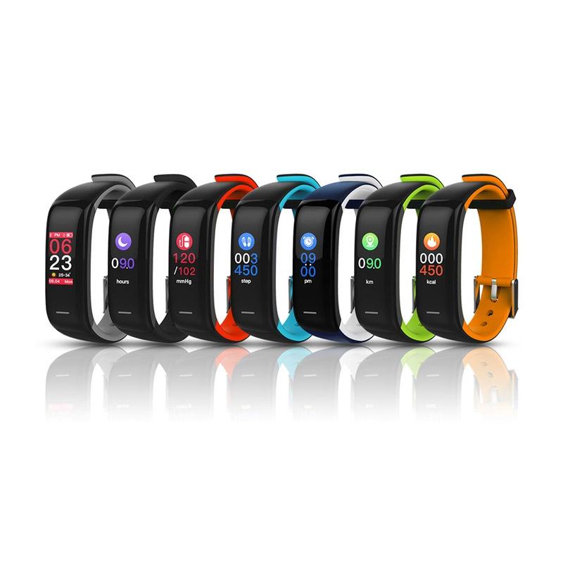 Ρολόι Fitness Tracker Apachie Infinity P1 Plus με Μετρητή Καρδιακών Παλμών Χρώματος Μπλε INFINITYTRKBLU