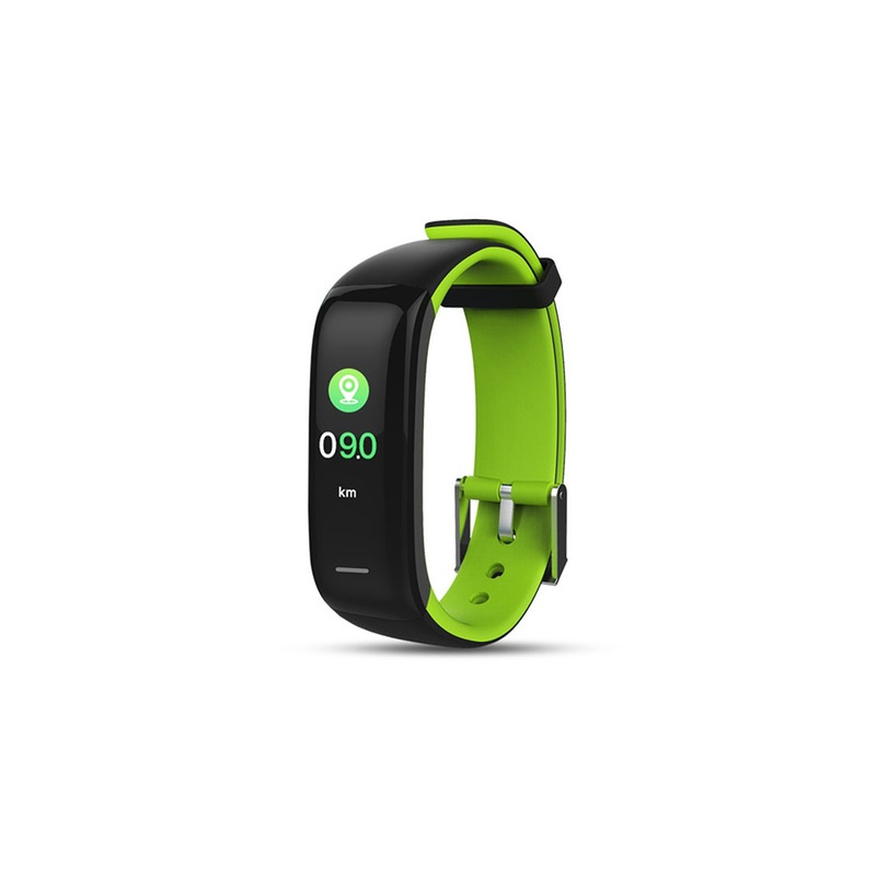 Ρολόι Fitness Tracker Apachie Infinity P1 Plus με Μετρητή Καρδιακών Παλμών Χρώματος Πράσινο INFINITYTRKGRN