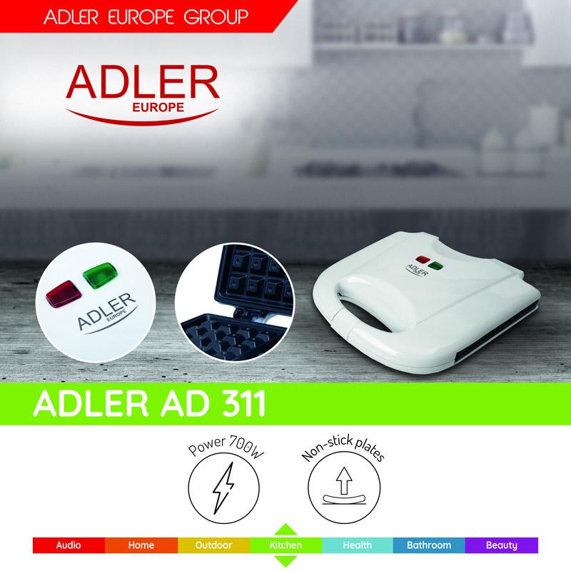 Βαφλιέρα 700 W Adler AD-311