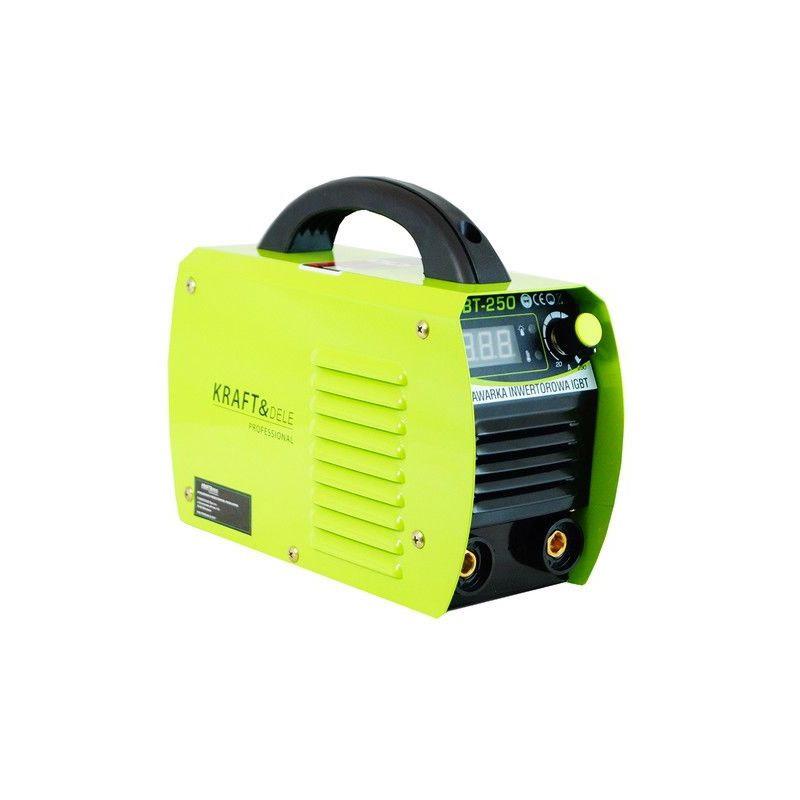 Ηλεκτροκόλληση Inverter MMA 250A LCD 230V IGBT Kraft&Dele KD-1844