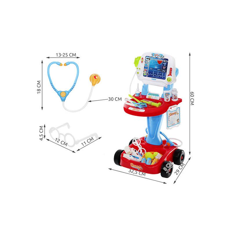 Παιδικό Τρόλεϊ - Ιατρικός Πάγκος 32.5 x 60 x 29 cm 6114