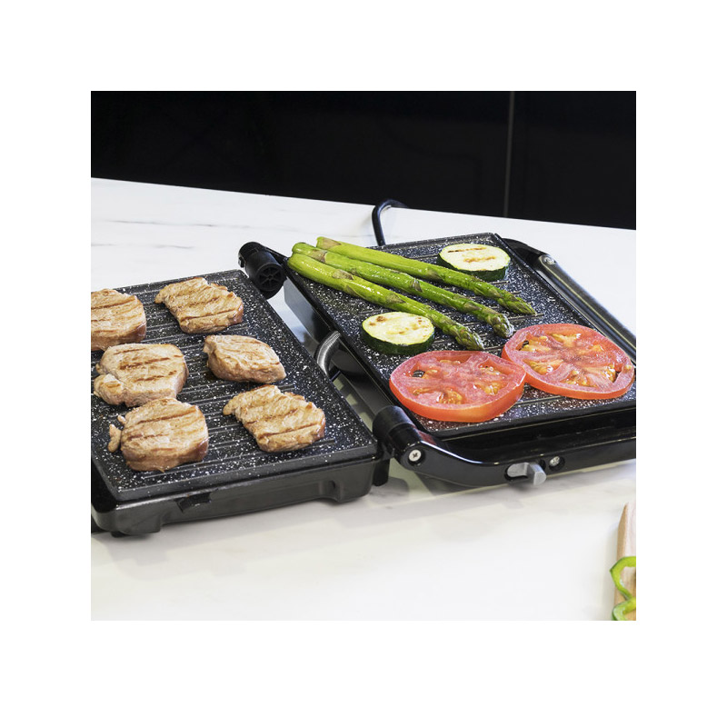 Τοστιέρα - Γκριλ 750 W Rock'nGrill 750 Full Open Cecotec CEC-03011