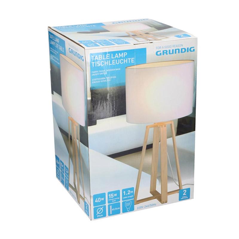 Επιτραπέζιο Στρογγυλό Φωτιστικό 40 W E27 29 x 62.5 cm Grundig 99605