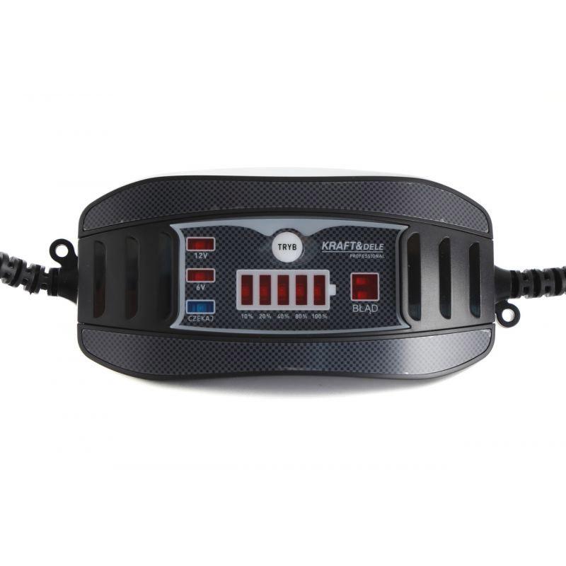 Φορτιστής Μπαταρίας Αυτοκινήτου 7.3/14.7 V 1 A Kraft&Dele KD-1287