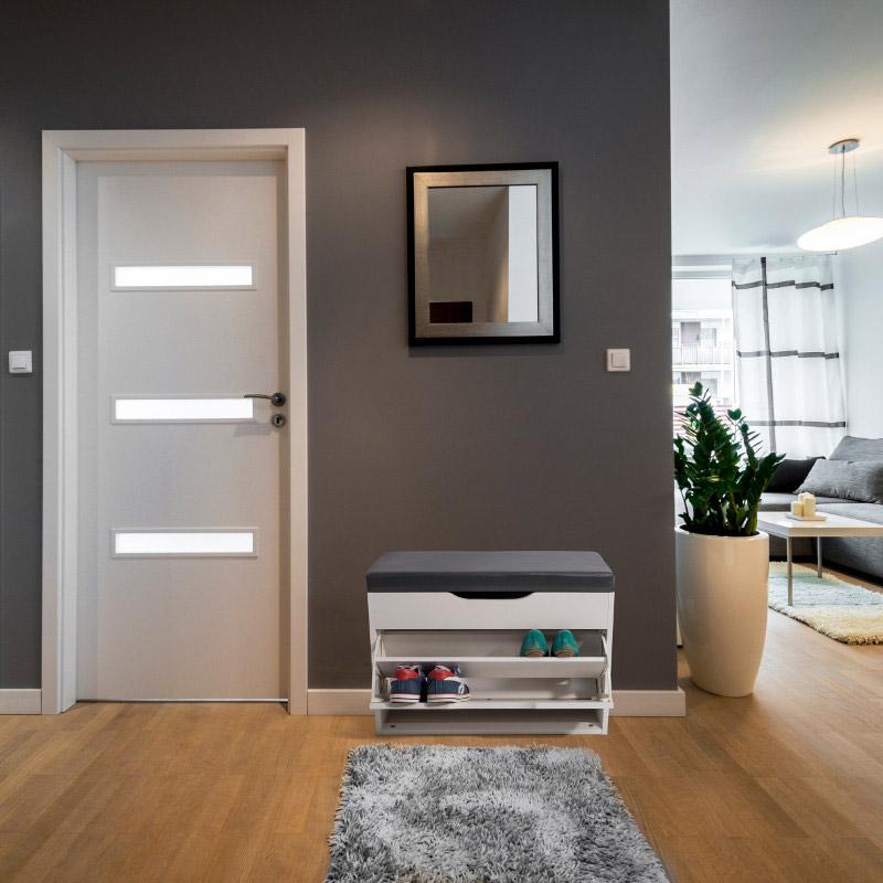 Παπουτσοθήκη 65 x 29.5 x 48.5 cm HomeKraft Finnes HKFINNESNEW00