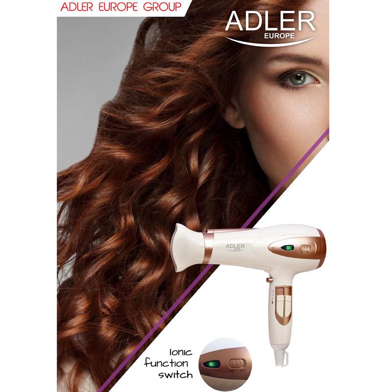 Πιστολάκι Μαλλιών με Ιονιστή 2400 W Adler AD-2248