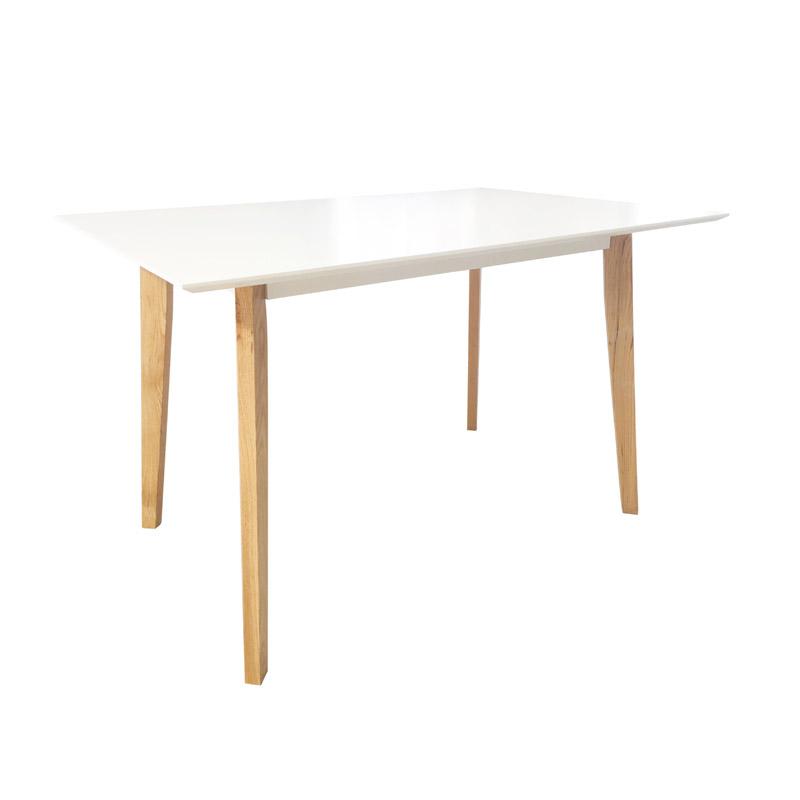 Τραπέζι HomeKraft Jovic 120 x 80 x 74 cm HKJOVIKWHI120