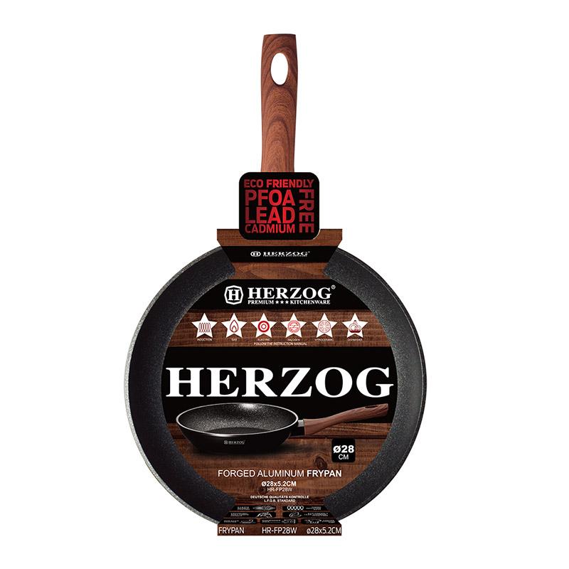 Αντικολλητικό Τηγάνι 28 cm Herzog HR-FP28W