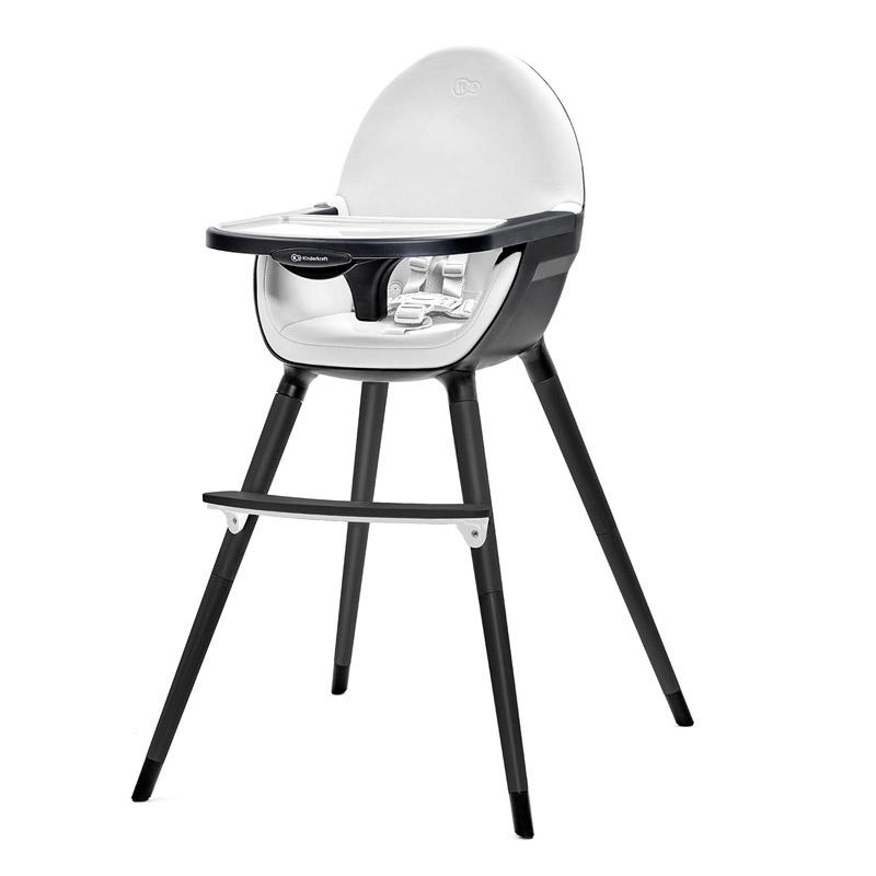 Παιδικό Κάθισμα Φαγητού 2 σε 1 Χρώματος Μαύρο KinderKraft FINI KKKFINIFBLK000
