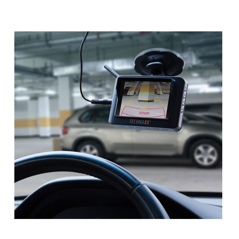 """Ασύρματη Κάμερα Οπισθοπορείας και Παρκαρίσματος με Οθόνη TFT 3.5"""" Technaxx TX-110"""
