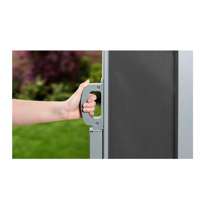 Προστατευτικό Ρολό για τον Ήλιο και τον Αέρα 200 x 300 cm Χρώματος Ανθρακί SPM 30050166