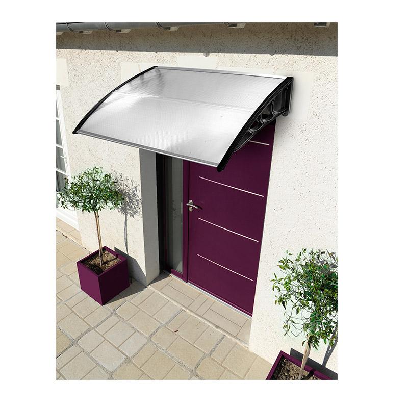 Πλαστικό Κιόσκι - Τέντα Πόρτας Εισόδου 80 x 150 cm Χρώματος Λευκό SPM 30060099