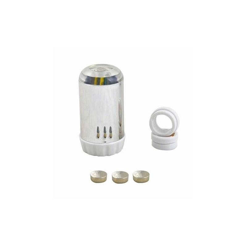 Κεφαλή Βρύσης με LED Αισθητήρα Θερμοκρασίας 0189