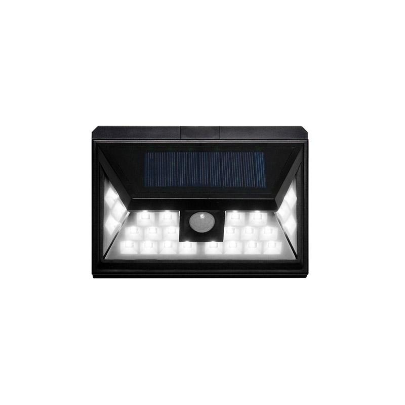 Ηλιακή Λάμπα Τοίχου με 24 LED 3.5 W και Ανιχνευτή Κίνησης SPM 80050017
