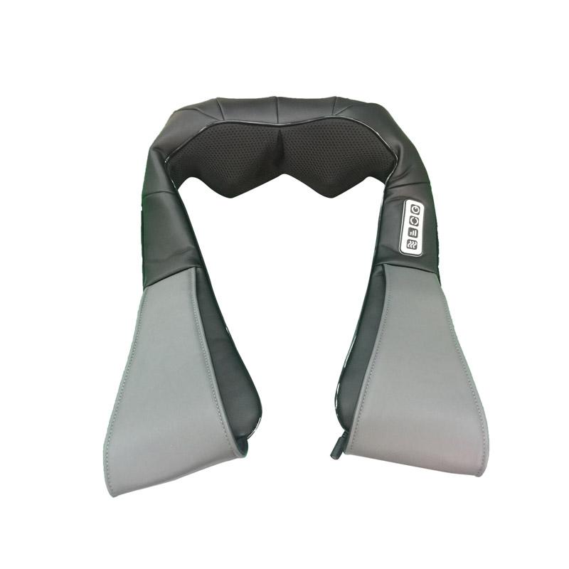 Συσκευή Μασάζ Shiatsu Αυχένα - Πλάτης με Θερμότητα Χρώματος Μαύρο Cenocco CC-9042