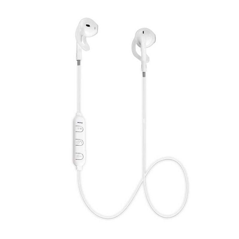 Ασύρματα Ακουστικά Bluetooth Χρώματος Λευκό Esperanza Sport Earphones EH187W