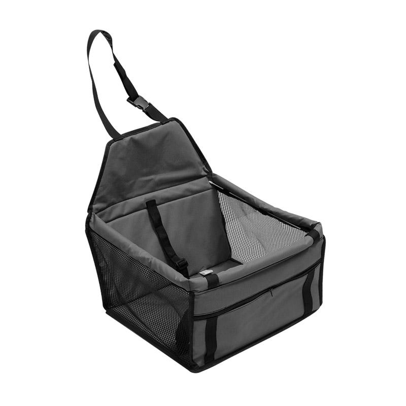 Καθισματάκι Αυτοκινήτου για Κατοικίδια έως 30 kg Χρώματος Μαύρου SPM DB4053