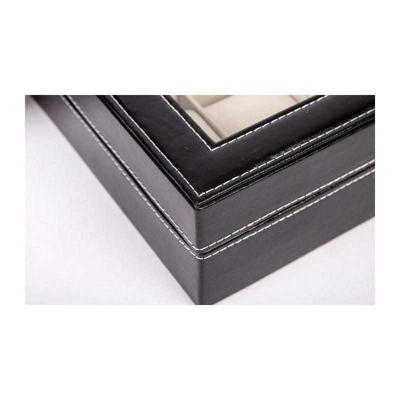 Κομψή Κοσμηματοθήκη 6 Θέσεων SPM Watch6-case-BLACK