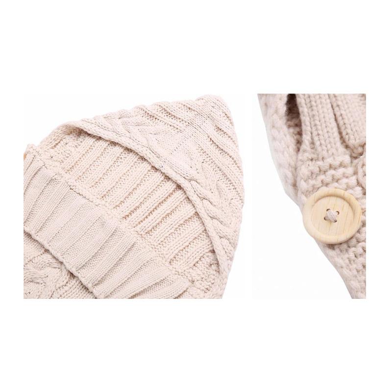 Βρεφική Κουβέρτα - Υπνόσακος 70 x 39 cm Χρώματος Μπεζ SPM DB3604