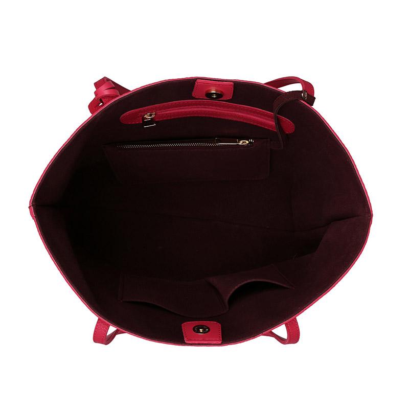 Γυναικεία Τσάντα Χειρός Χρώματος Φούξια Beverly Hills Polo Club 402 657BHP0778