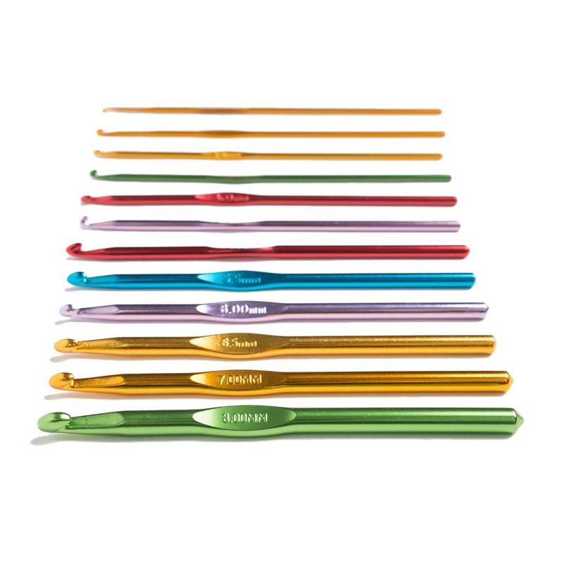 Σετ Βελονάκια Πλεξίματος 22 Τμχ με Θήκη SPM SewingHooks