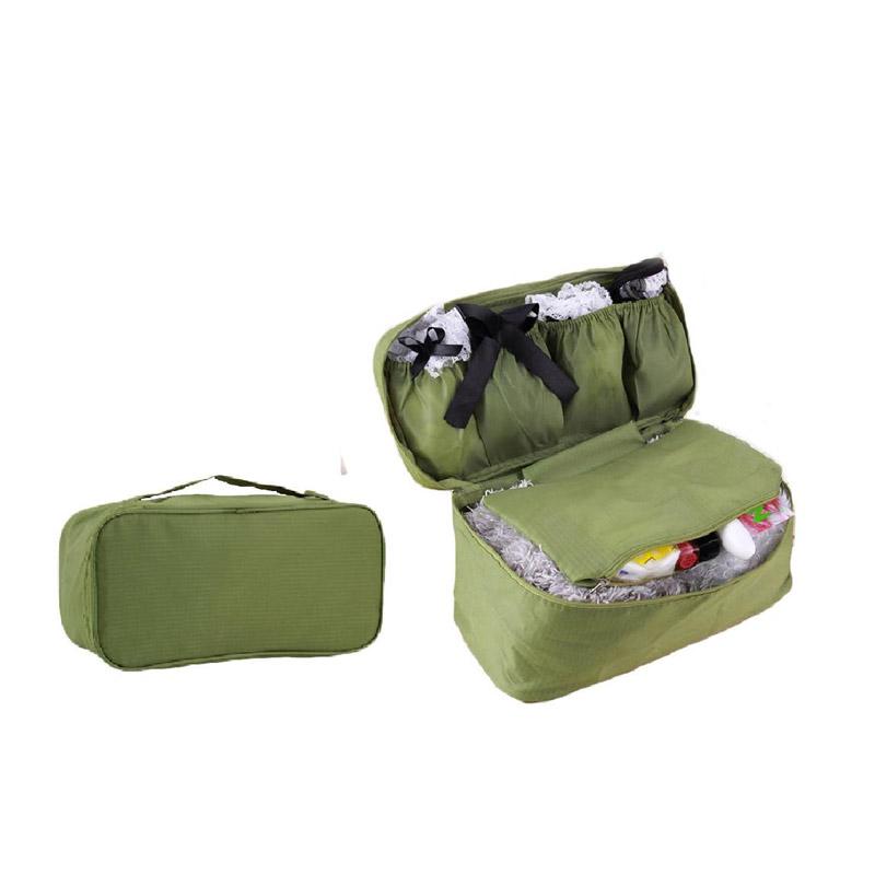 Τσάντα Αποθήκευσης Εσωρούχων Ταξιδίου Χρώματος Πράσινο UndiesCosmOrg-GREEN