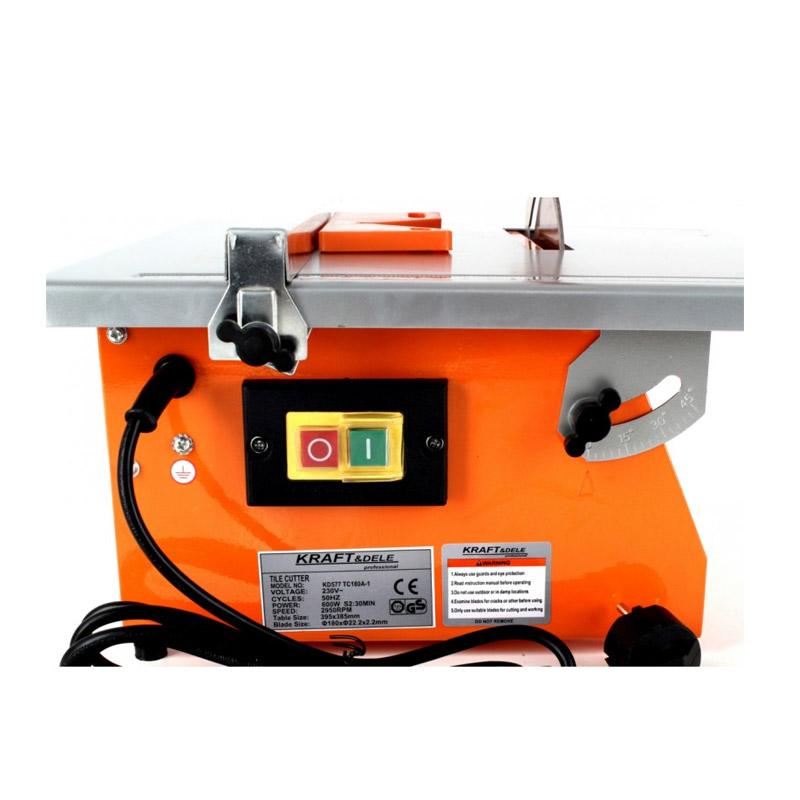 Ηλεκτρικός Κόφτης Πλακιδίων με Διαμαντόδισκο 600 W Kraft&Dele KD-577