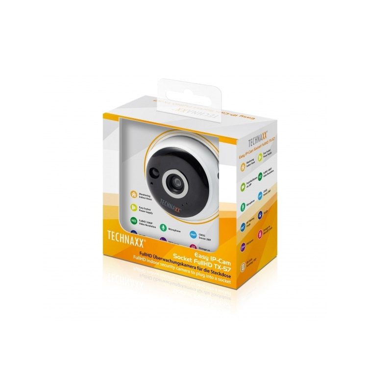 IP Κάμερα Easy Socket Full HD Technaxx TX-57