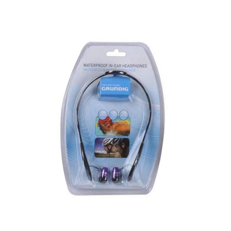 Αδιάβροχα Ενδώτια Ακουστικά Χρώματος Μωβ Grundig 51606
