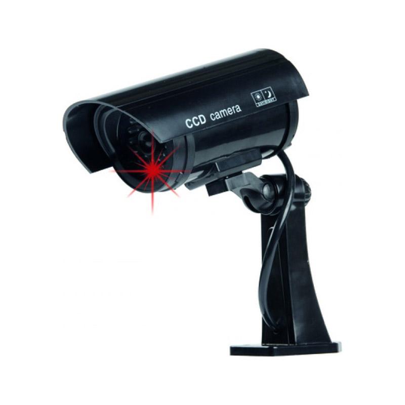 Ψεύτικη Ασύρματη Κάμερα Παρακολούθησης με LED Φως Dummy Security Camera Grundig 07962