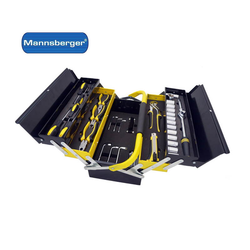 Εργαλειοθήκη με 58 τμχ Manssberger 808.605