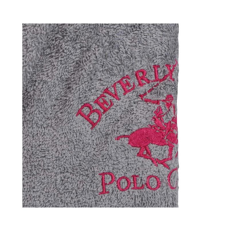 Μπουρνούζι Χρώματος Γκρι Beverly Hills Polo Club 355BHP1706