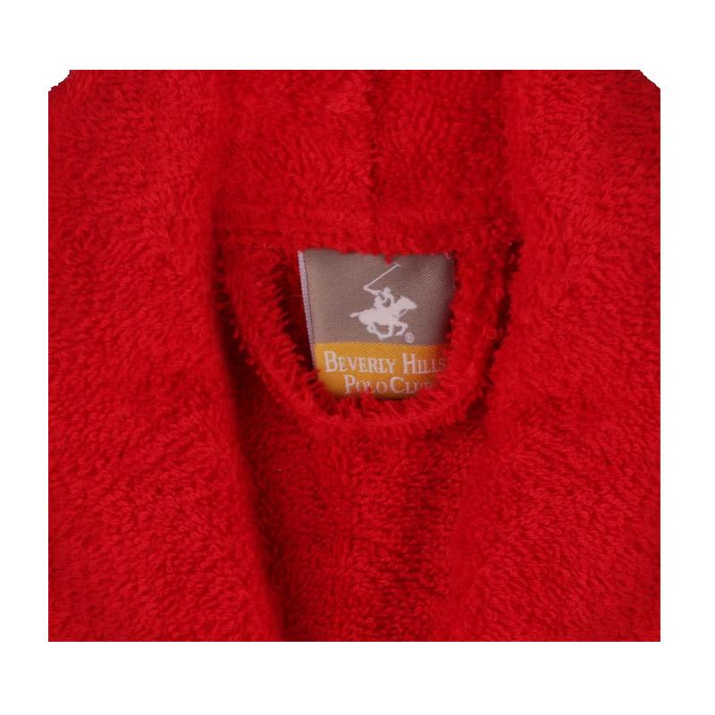 Μπουρνούζι Χρώματος Κόκκινο Beverly Hills Polo Club 355BHP1711