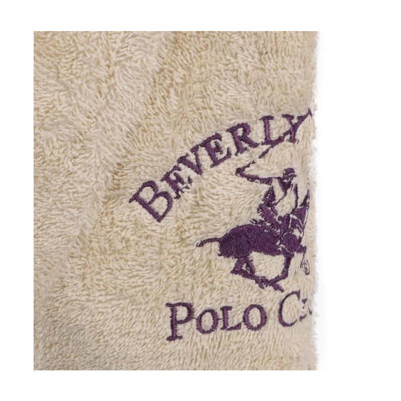 Μπουρνούζι Χρώματος Μπεζ Beverly Hills Polo Club 355BHP1704