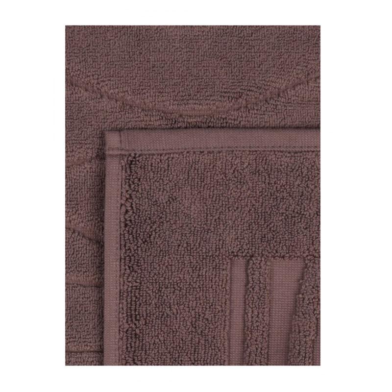 Σετ με 2 Χαλάκια Μπάνιου 50 x 75 cm Χρώματος Καφέ Beverly Hills Polo Club 355BHP1014