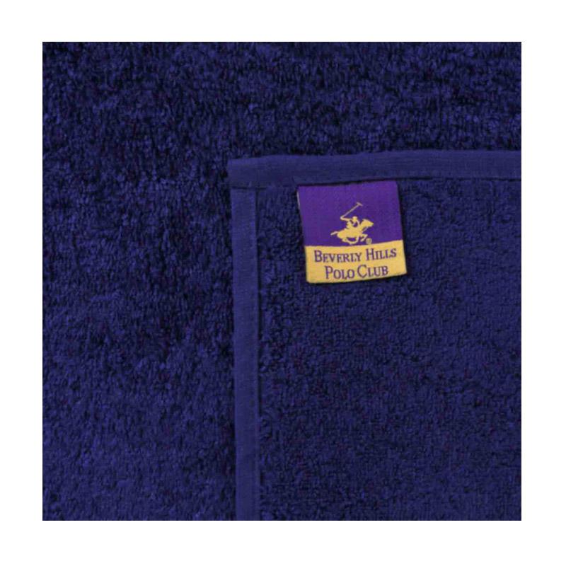 Σετ με 2 Πετσέτες Προσώπου 50 x 90 cm Χρώματος Navy Beverly Hills Polo Club 355BHP2251