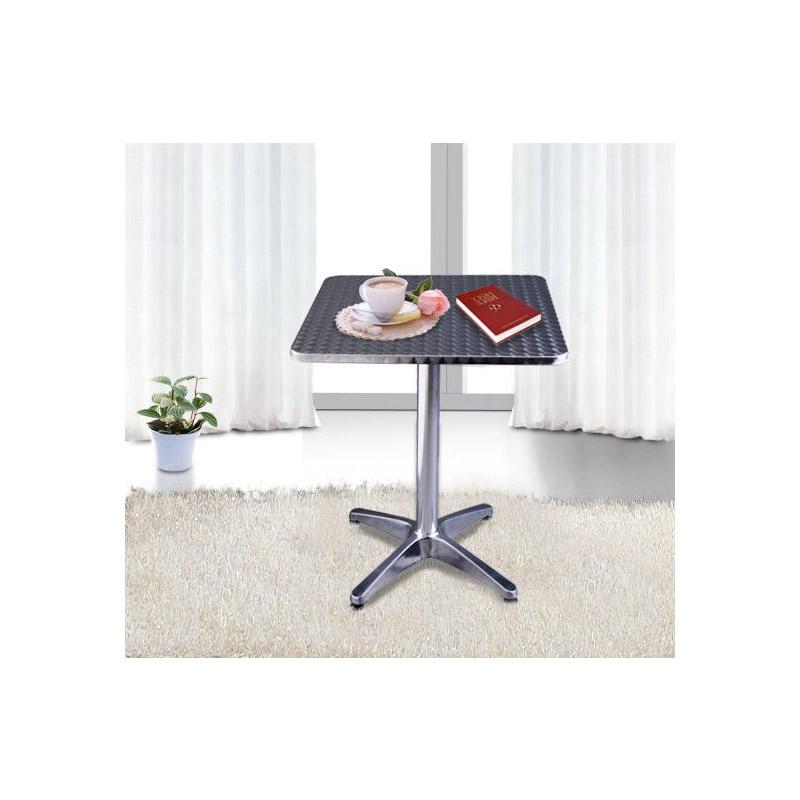 Τραπέζι με Ρυθμιζόμενο Ύψος 60 x 60 cm HOMCOM 02-0175