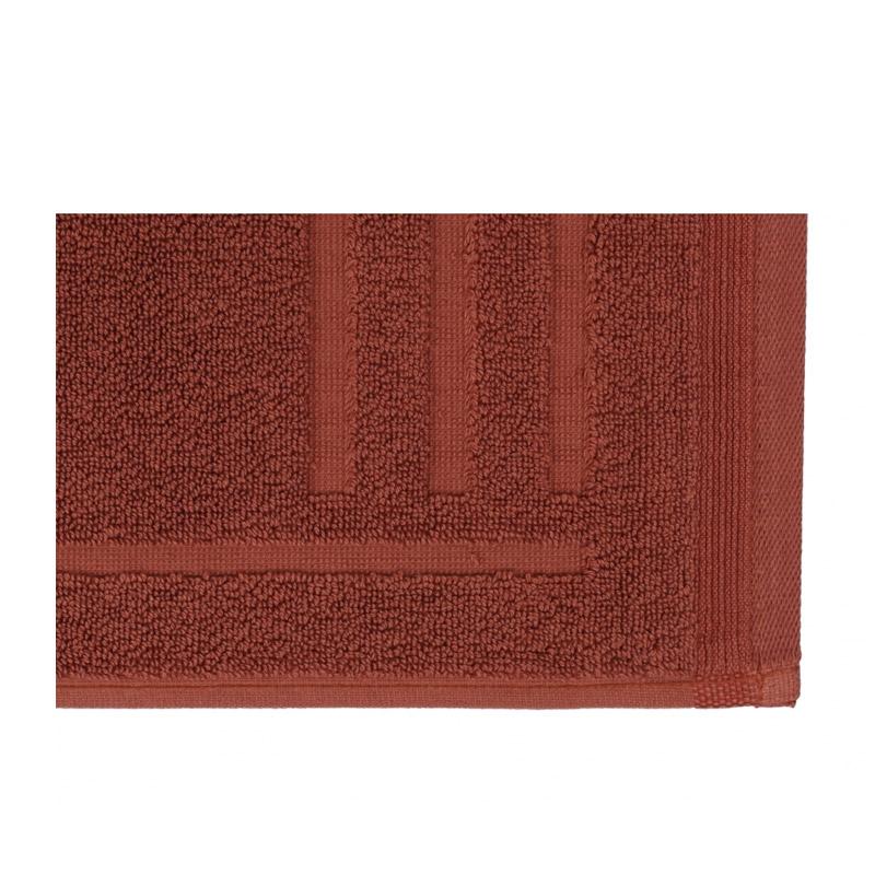 Χαλάκι Μπάνιου 50 x 80 cm Χρώματος Καφέ Beverly Hills Polo Club 355BHP1020