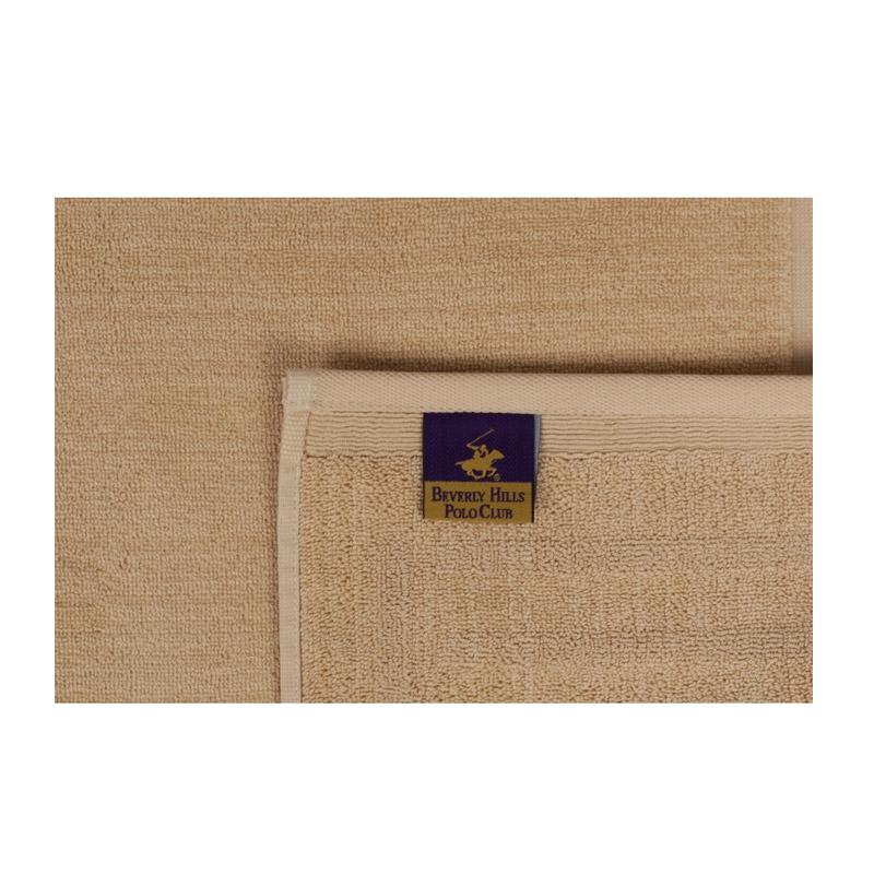 Χαλάκι Μπάνιου 50 x 80 cm Χρώματος Μπεζ Beverly Hills Polo Club 355BHP1019