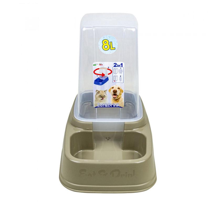 Αυτόματος Διανεμητής Τροφής ή Νερού 8 Lt 2 σε 1 MWS15965