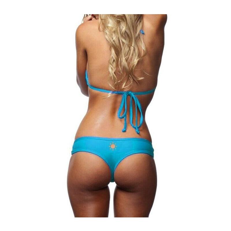 Μαγιό Slip Bikini με Σχέδιο Ήλιο Χρώματος Μπλε MWS2346