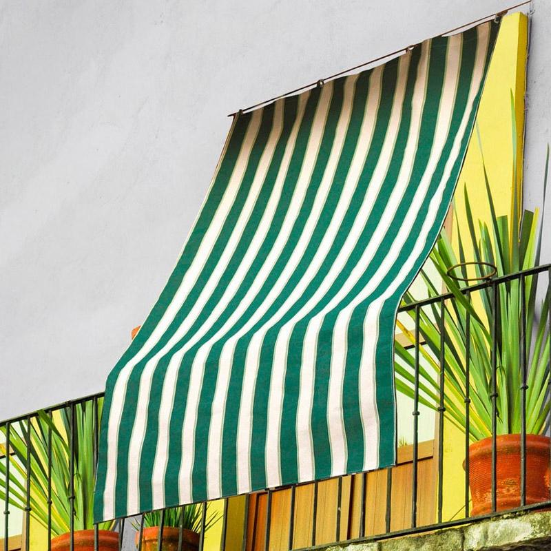 Τέντα με Ενισχυμένους Δακτυλίους 290 x 290 cm Χρώματος Πράσινο MWS15968