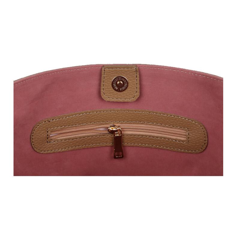 Γυναικεία Τσάντα Χειρός Χρώματος Camel Beverly Hills Polo Club 402 657BHP0781