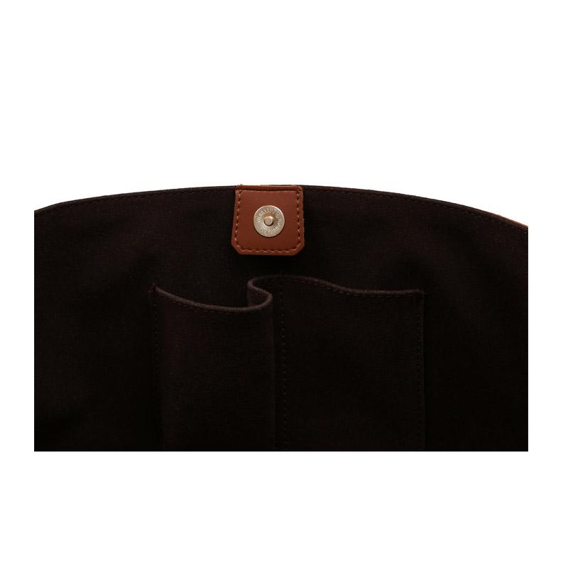 Γυναικεία Τσάντα Χειρός Χρώματος Καφέ Beverly Hills Polo Club 402 657BHP0771