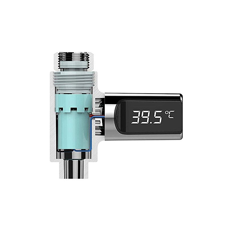 Ψηφιακό Θερμόμετρο Βρύσης με Οθόνη LCD SPM DB5383