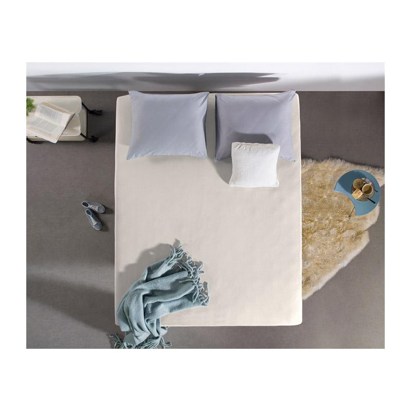 Σετ 4 King Size Σεντόνια Jersey Ξενοδοχειακής Ποιότητας 5 Αστέρων 190 x 200 cm Χρώματος Μπεζ SleepTime 8719831792054