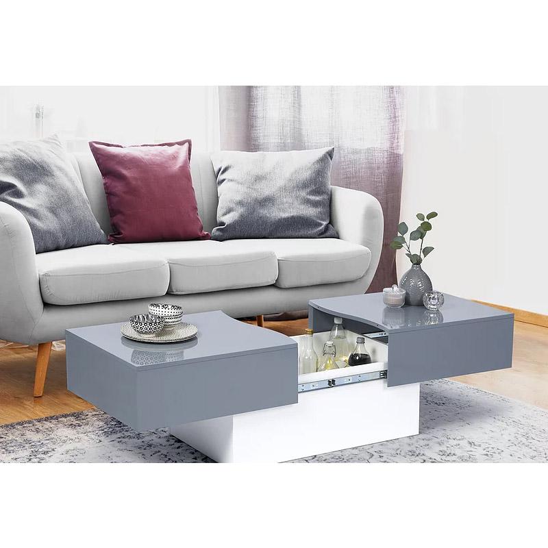 Τραπέζι Σαλονιού με Συρόμενη Επιφάνεια 120 x 50 x 43 cm Cleo SPM 30080168