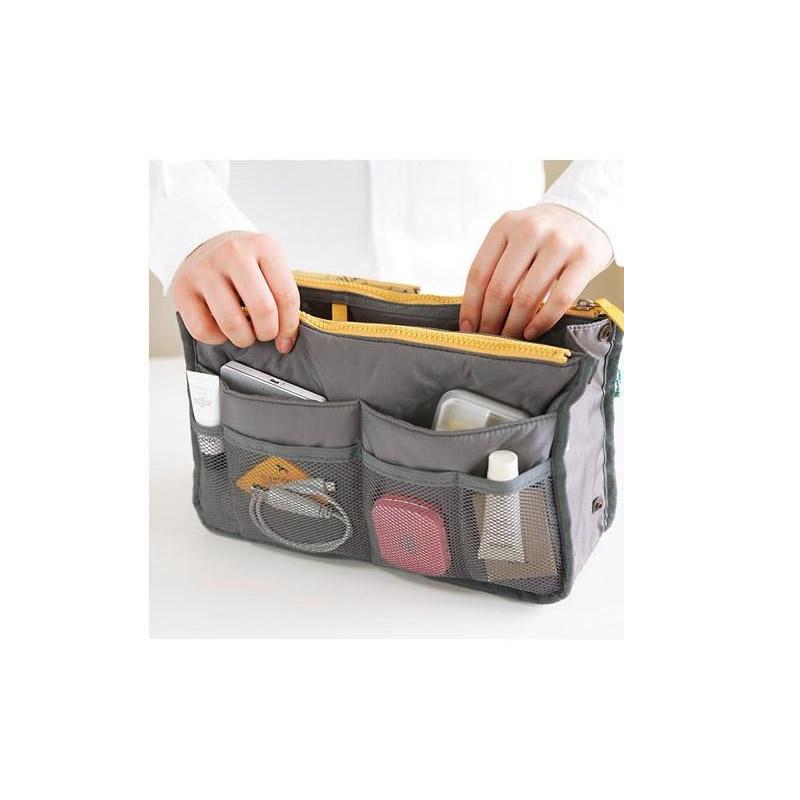 Organizer Τσάντας και Καλλυντικών Χρώματος Γκρι SPM HandbagOrg-GREY
