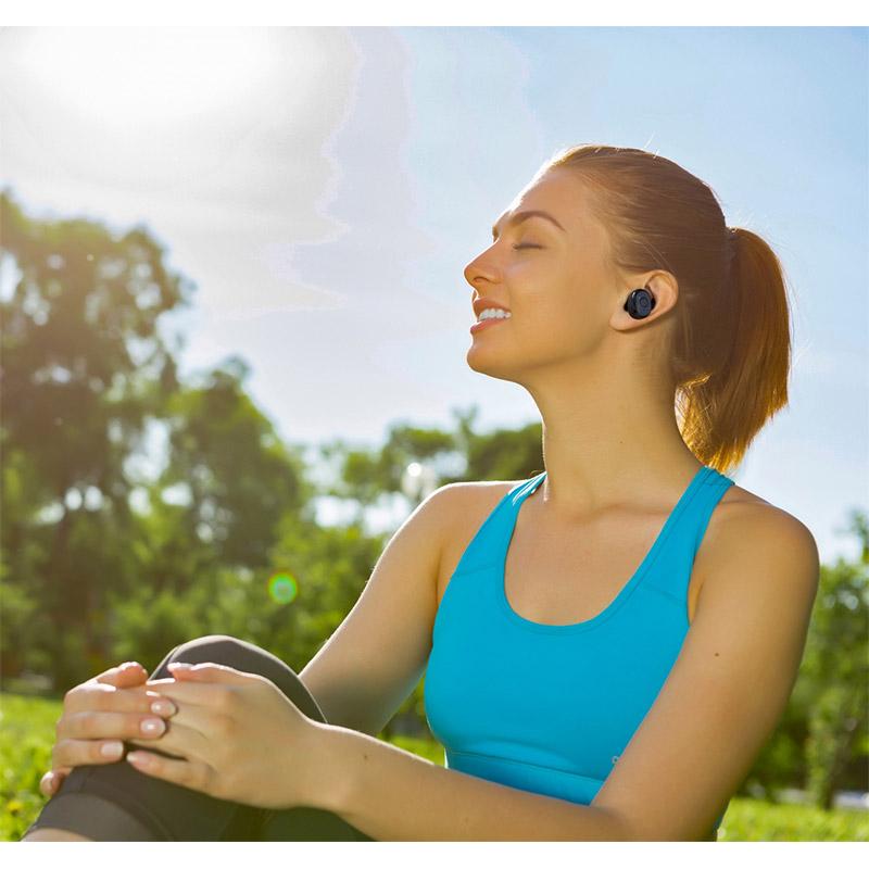 Ασύρματα Ακουστικά Bluetooth TWS με Βάση Φόρτισης Technaxx MusicMan BT-X49